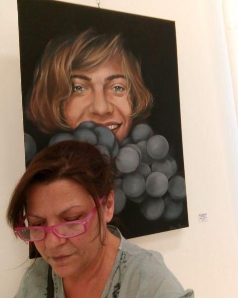 λένα βάκα, τέχνη, ζωγράφος
