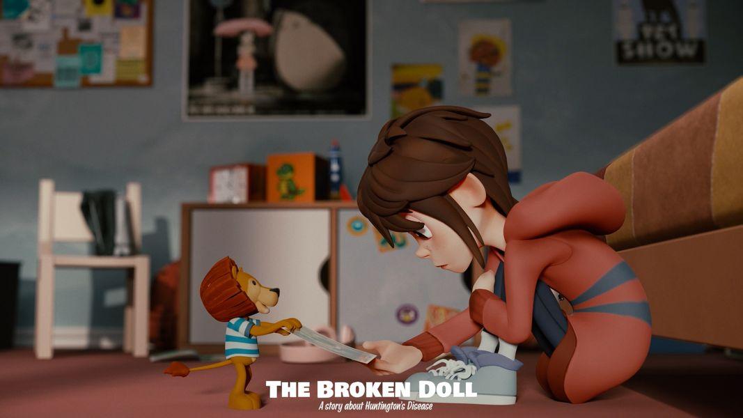 """THE BROKEN DOLL"": ταινία μικρού μήκους αφιερωμένη στα παιδιά που πάσχουν από τη νόσο του Huntington"